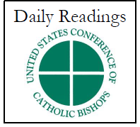 USCCB Daily Readings Button